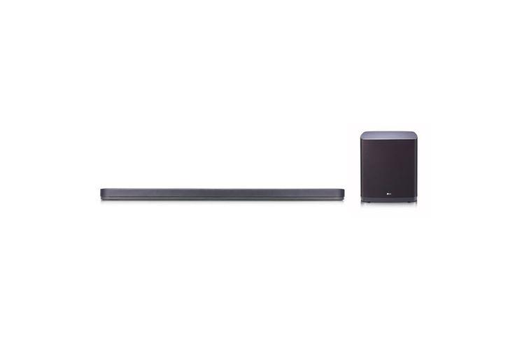 LG SJ9 Soundbar  Description: LG SJ9 Soundbar: Met Dolby Atmos Met de LG SJ9 Soundbar heb je een ware bioscoopervaring bij je thuis. Dankzij innovatieve audio technieken in combinatie met Dolby Atmos en High Res Audio heb je een geweldig mooi geluid bij jouw favoriete film of serie. Ook worden lagere tonen opgeschaald naar 24 bits audio zodat jij kunt genieten van het beste geluid. De LG SJ9 beschikt over HDMI aansluitingen 4K Ultra HD ondersteuning en Bluetooth dus je kunt moeiteloos muziek…
