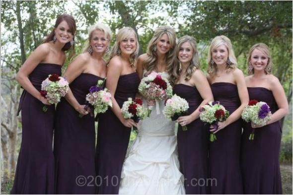 17 Best Ideas About Beige Bridesmaid Dresses On Pinterest: 17 Best Ideas About Eggplant Bridesmaid Dresses On