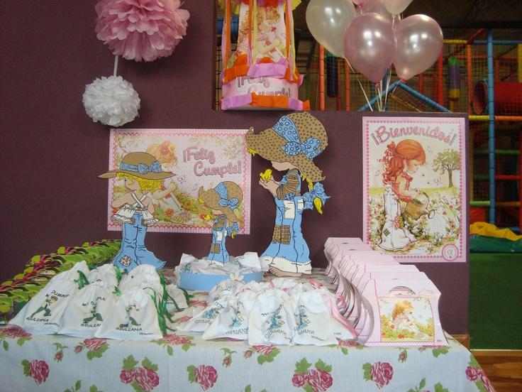 Mesa dulce ambientada