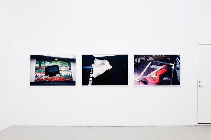 Installation view from Absalon Kirkeby's exhibition 'Diamonds and Pearls' at Peter Amby Gallery