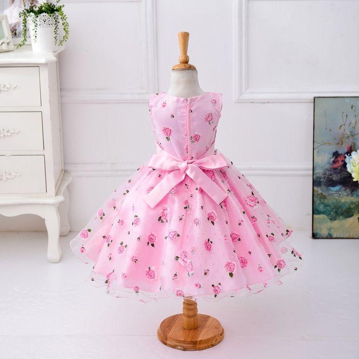 Розничная цветок платье пояса для свадьбы девушки цветочный принт платье первое причастие платья Размер: 100 150 L619 купить на AliExpress