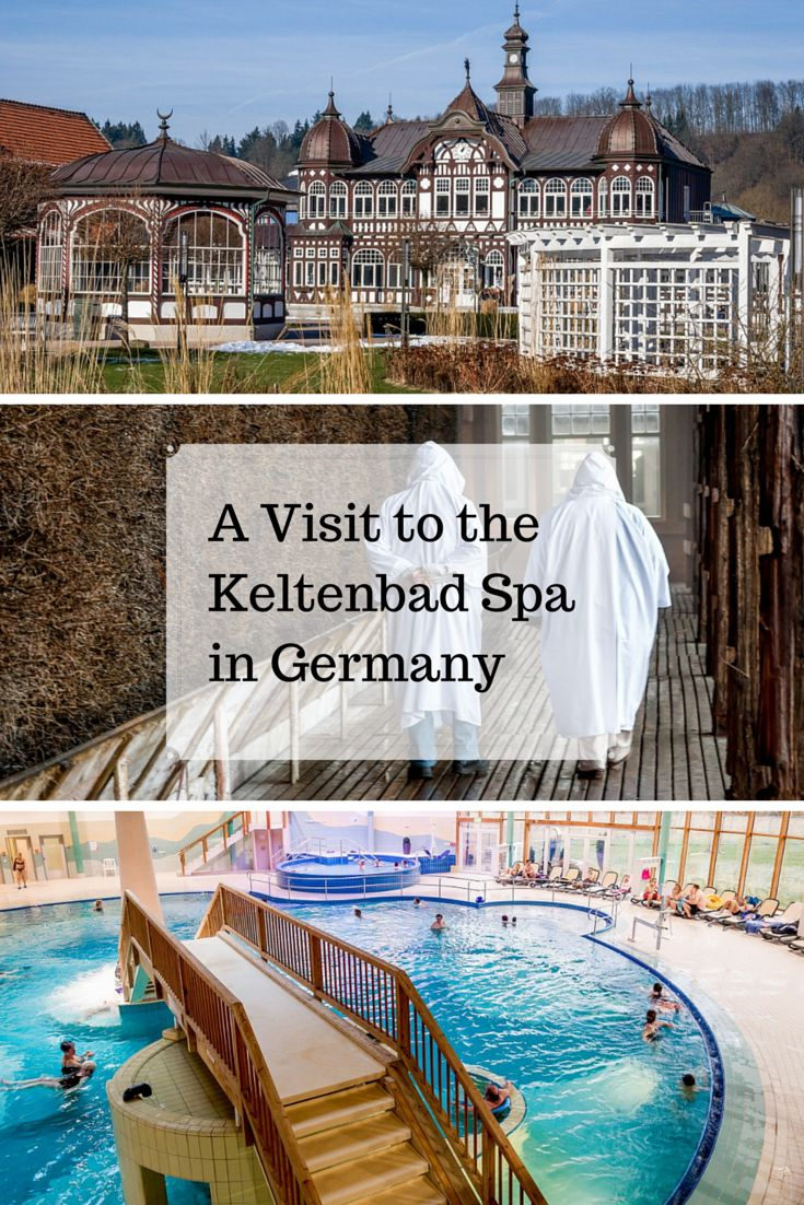 A Visit To The Keltenbad Spa In Bad Salzungen, Germany, Is Very Relaxing,
