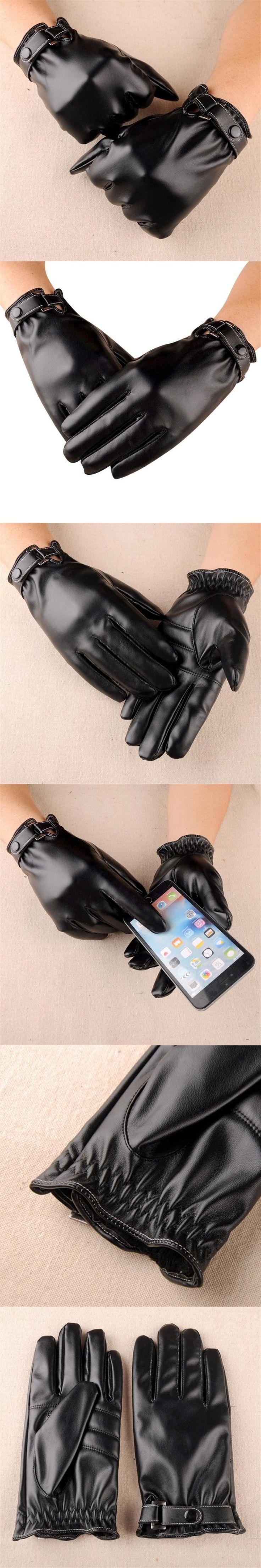 2017 Best Sale Fashion Men Winter Warm Soft Texting Driving Gloves Mitten gym gloves luvas de inverno guantes