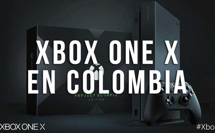 Precio y disponibilidad del Xbox One X en Colombia
