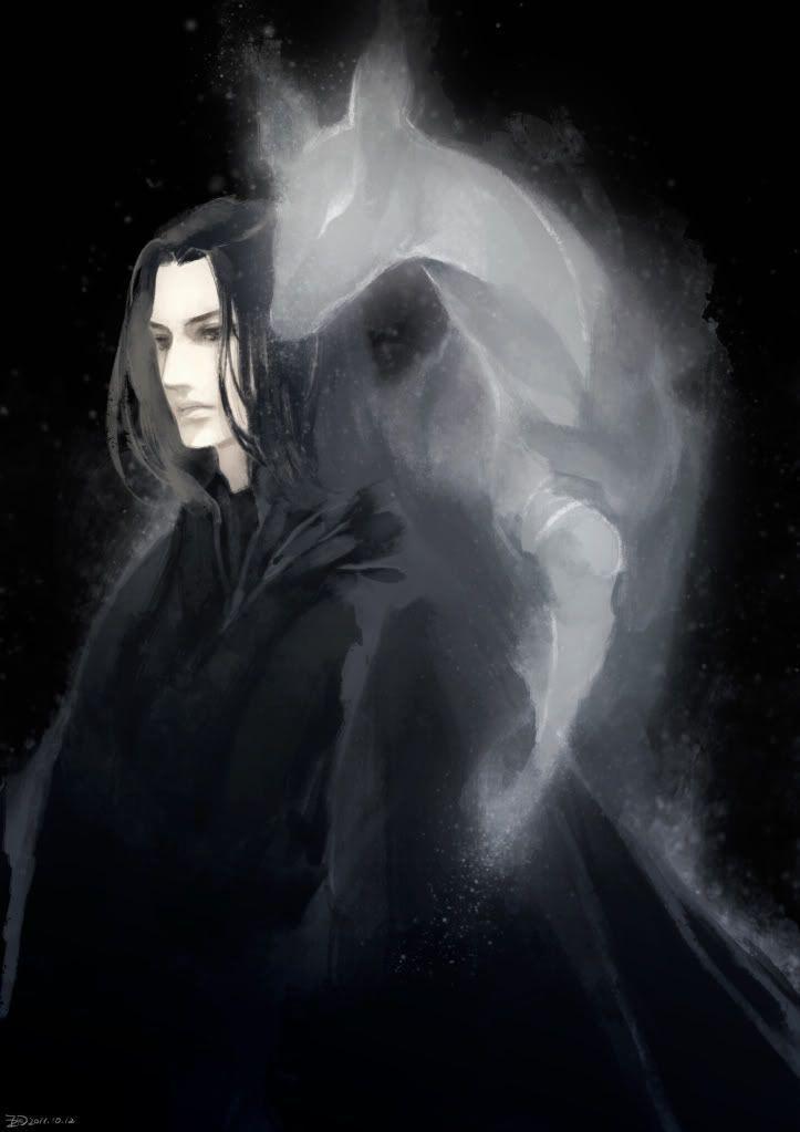 Severus Snape x Reader Story - A Hogwarts Christmas - Part