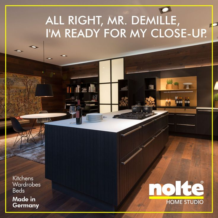 Great Glamour with a difference unlike transient stars the beauty of a Nolte kitchen is