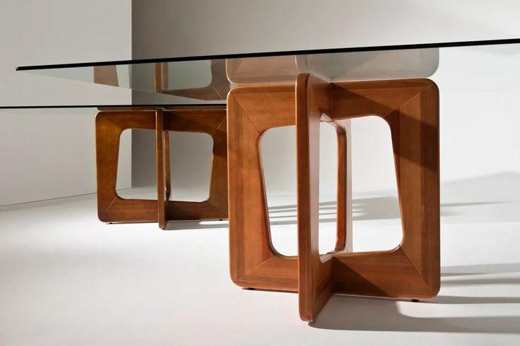 base para mesa de jantar ciclos quadrada