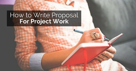 Guidelines for Writing Project Proposals at workplace