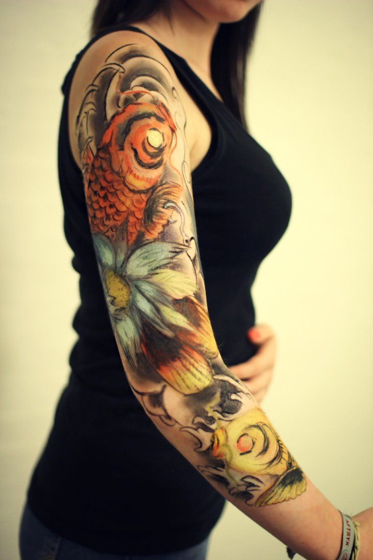 17 best images about tattoos on pinterest japanese water tattoo rockabilly and ink. Black Bedroom Furniture Sets. Home Design Ideas