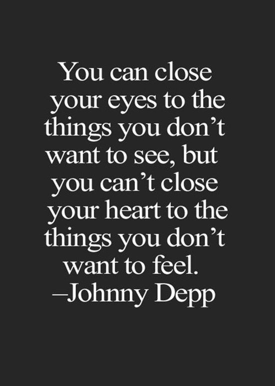 "Johnny Depp, that brilliant handsome actor that we all are fascinated by and love his acting, especially in the famous film series ""Pirates of the Caribbean"". Johnny is a producer and a musician too, but did you know that he is also a wise philosopher? Here is a collection of the wisest and most touching quotes by this lovely personality."