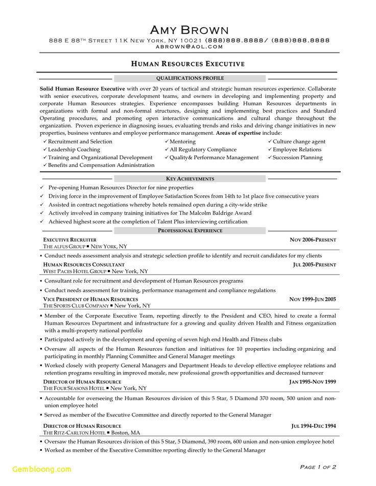 Free resume templates human resources curriculums