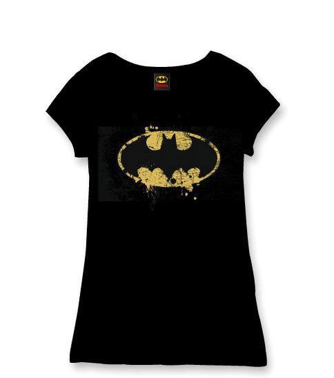 Camiseta chica Batman, vintage