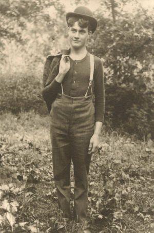 Bert Leon Prouty 1886 - 1962 Lafeyette, Wisconsin