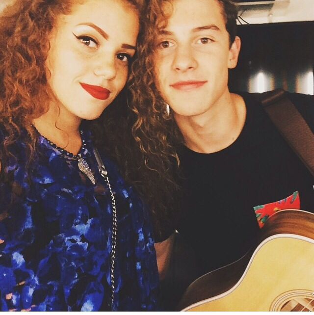 Mahogany and shawn. Mahogany went to watch shawn on tour❤️