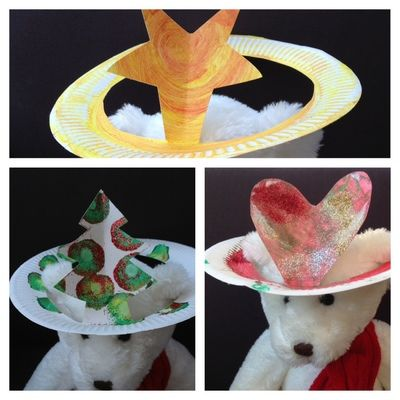 paper plate santa hats craft 1000 ideas about paper plate hats on paper 7024