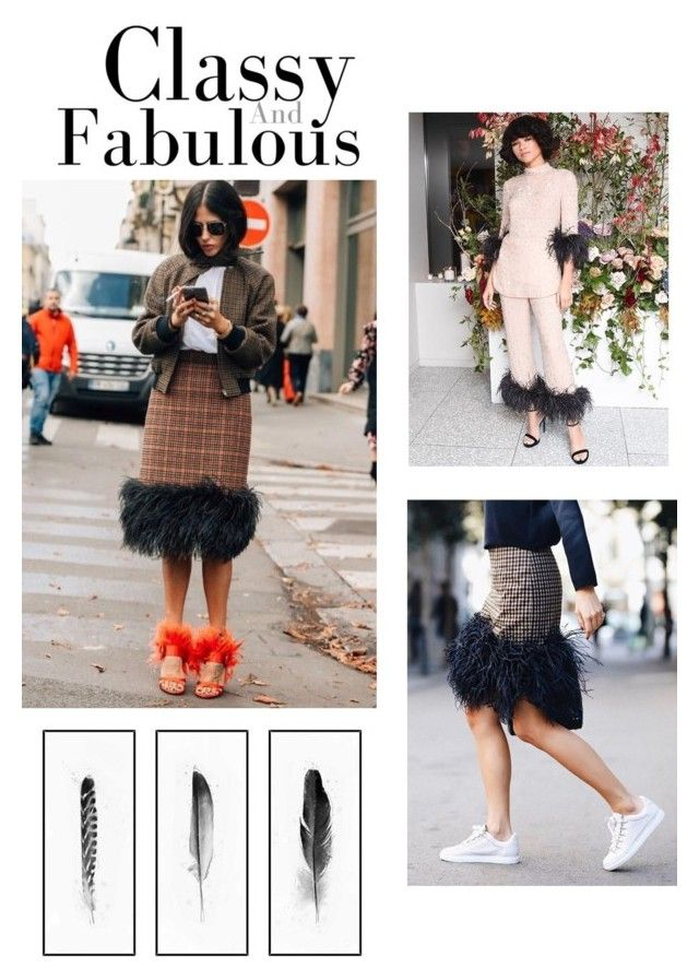 """Feathers"" by eva-dato on Polyvore featuring moda, DATO y Kim Salmela"