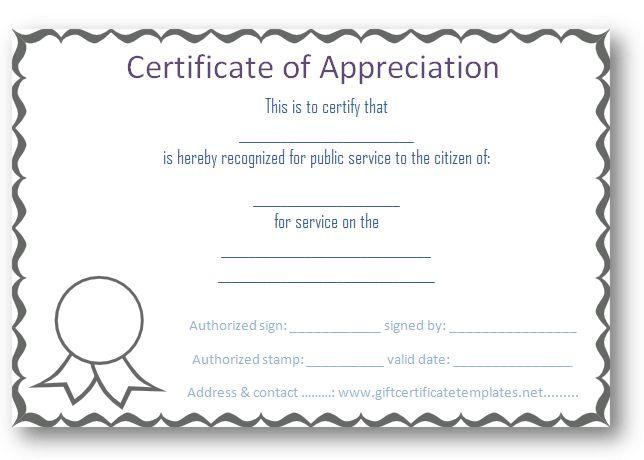 15 best certificate images on Pinterest Certificate design - free printable editable certificates