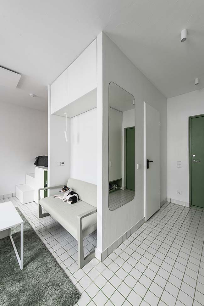 Micro Apartments In Vilnius By Heima Architects Micro Apartment