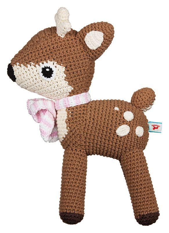Crochet Delaney deer    La De Dah Kids
