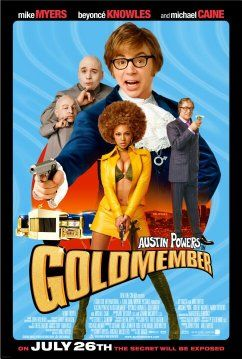 Mike Myers, Michael Caine, Beyoncé Knowles, and Verne Troyer in Austin Powers in Goldmember (2002)