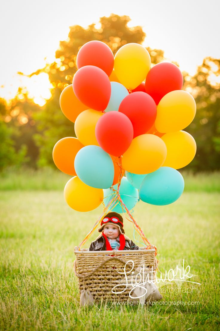 6 Month Old Photo By Lightwork Photography, Hot Air -5596