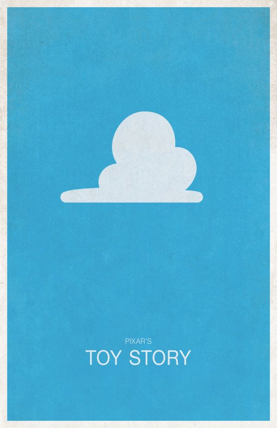 Disney's Pixar Poster Toy Story by WestGraphics on Etsy
