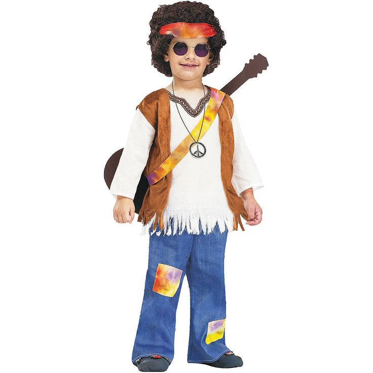 Hippie Costume For Kids - OrientalTrading.com  sc 1 st  Pinterest & The 22 best Groovy Theme images on Pinterest | Costume ideas Baby ...