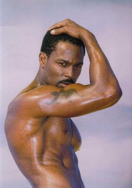 Naked black celebraty men — photo 9