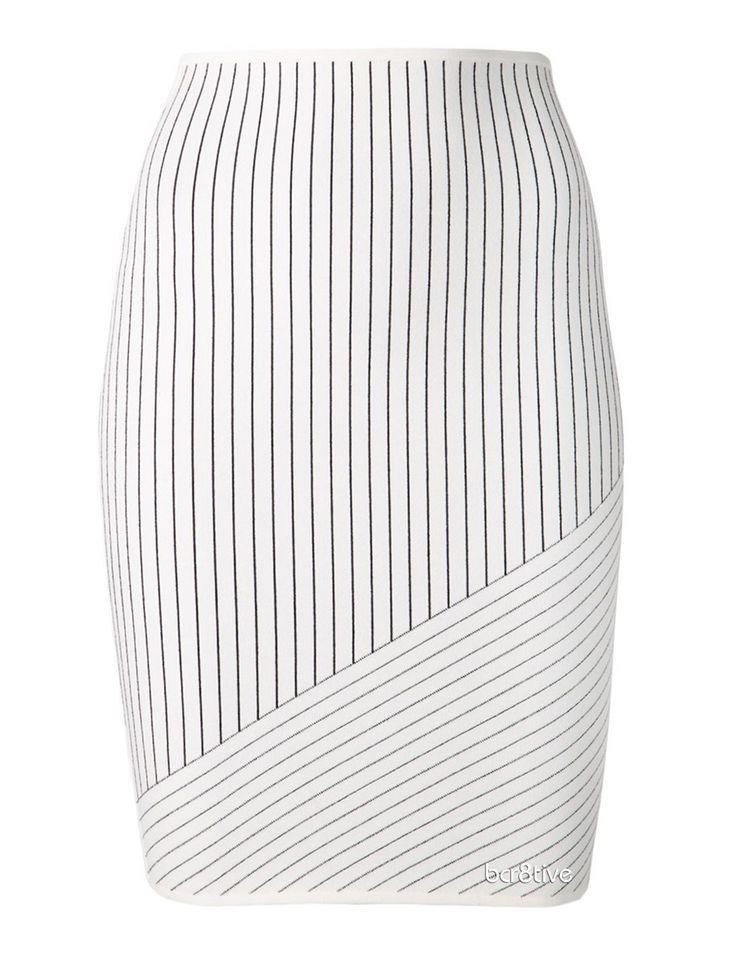 ALEXANDER WANG pinstripe skirt