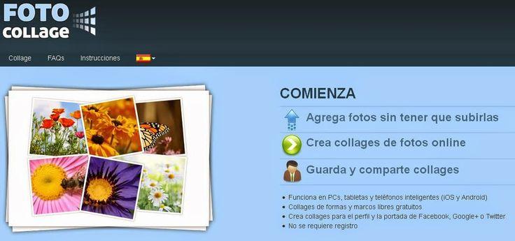 FOTO COLLAGE - CREA COLLAGES ONLINE Y COMPÁRTELOS (AYUDA PARA MAESTR@S)
