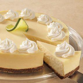 Creamy Lime Cheesecake