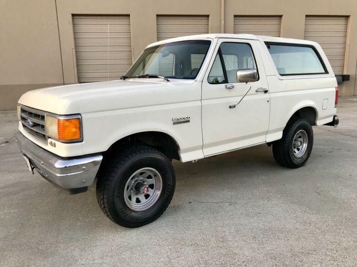 Used 1989 Ford Bronco CUSTOMONE OWNER CALIFORNIA SUV85K