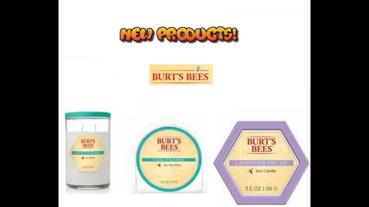 Brand new from Burt's Bees and my new obsession. In.love.