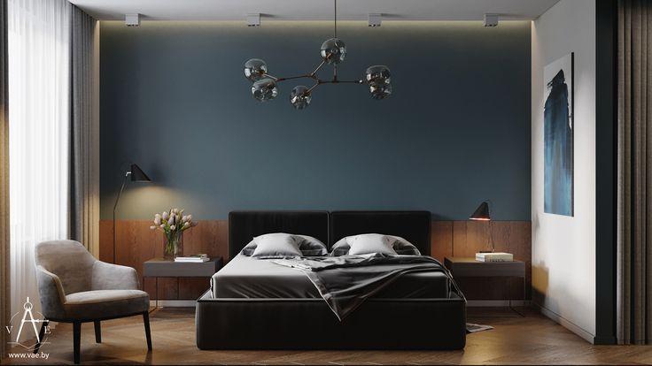 Apartments in Minsk (7) Bedroom on Behance