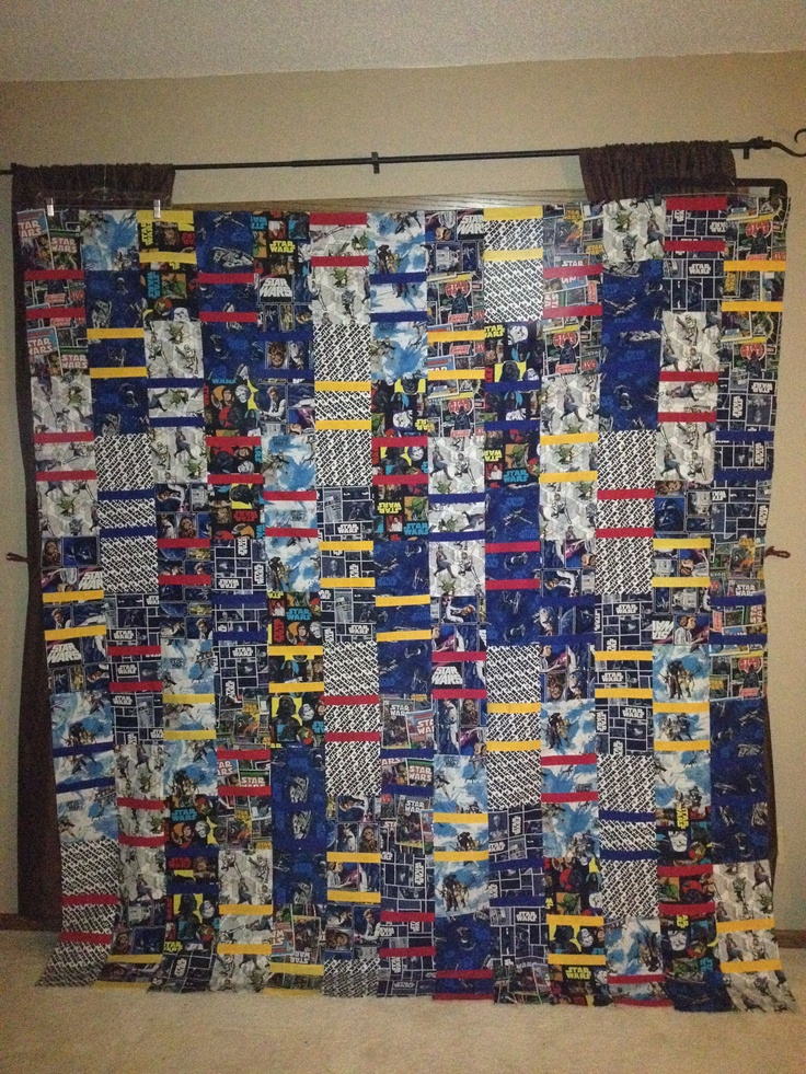 Star Wars Quilt Fabric From Joanne S And The Pattern From