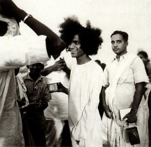 Young Bhagavan Sathya Sai Baba