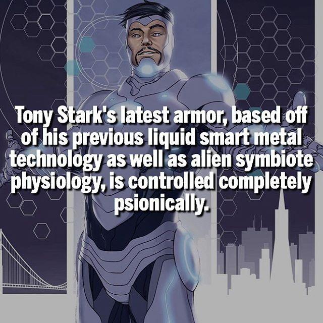 Endorsed-Sym Armor || Favorite Iron Man suit? | Follow @dcmarvelousfacts |