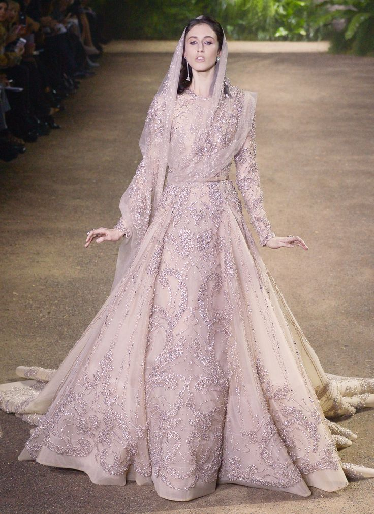 Proof That Couture Fashion Week Has the Best Wedding Dress Inspo - Elie Saab Haute Couture  - from InStyle.com