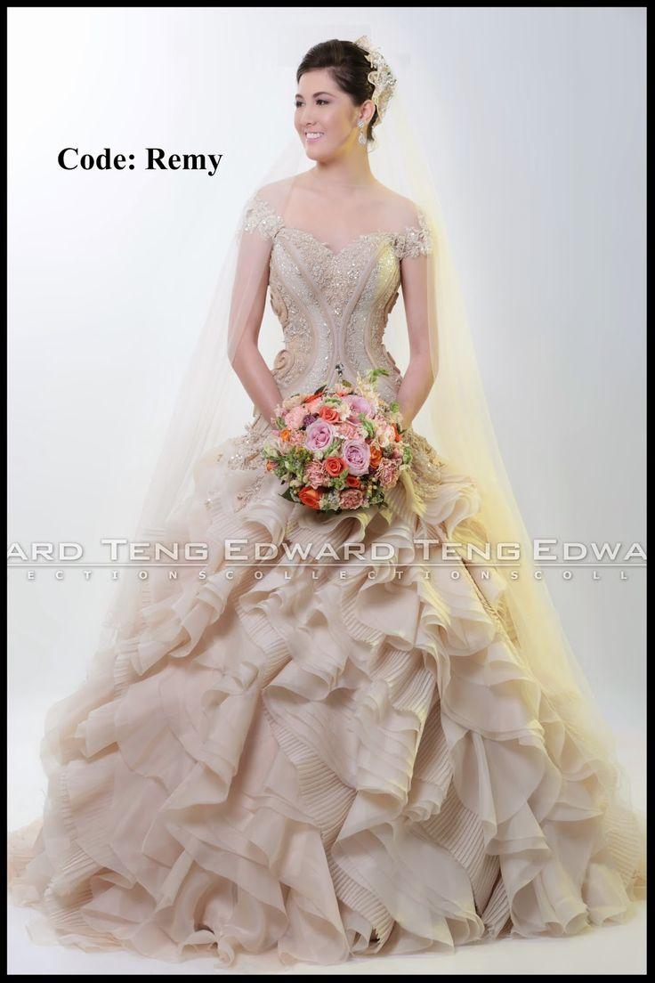 30 best wedding gown images on Pinterest | Gown designer ...