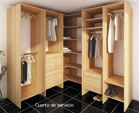 17 best images about nuestros closets on pinterest tes for Closet para habitaciones