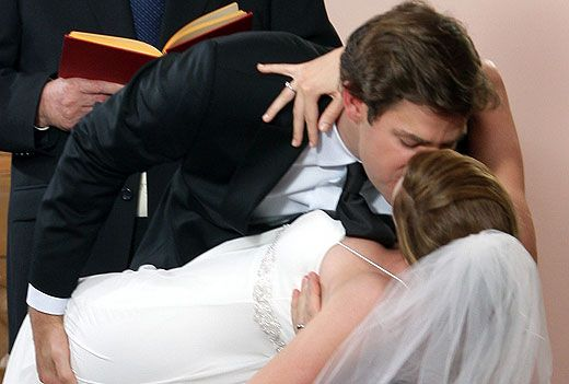 """Pam (Jenna Fischer) and Jim (John Krasinski) will live happily ever after even after the documentary cameras stop rolling. But we've only got one more season of """"The Office"""" to live vicariously through their wonderful courtship-turned-marriage"""