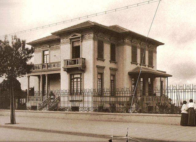 São Paulo Antiga —   10 Casarões da Avenida Paulista para matar saudades Residência de Maria Augusta Borges Figueiredo – 1915, Escritório Técnico Ramos de Azevedo: