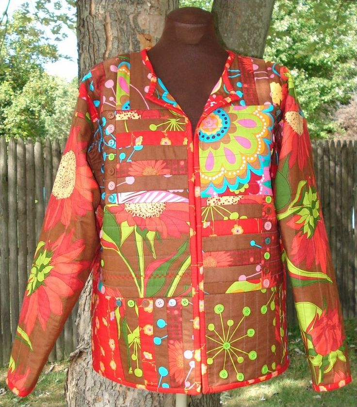 233 best quilted garments images on Pinterest | Factory design ... : quilted sweatshirt jacket - Adamdwight.com