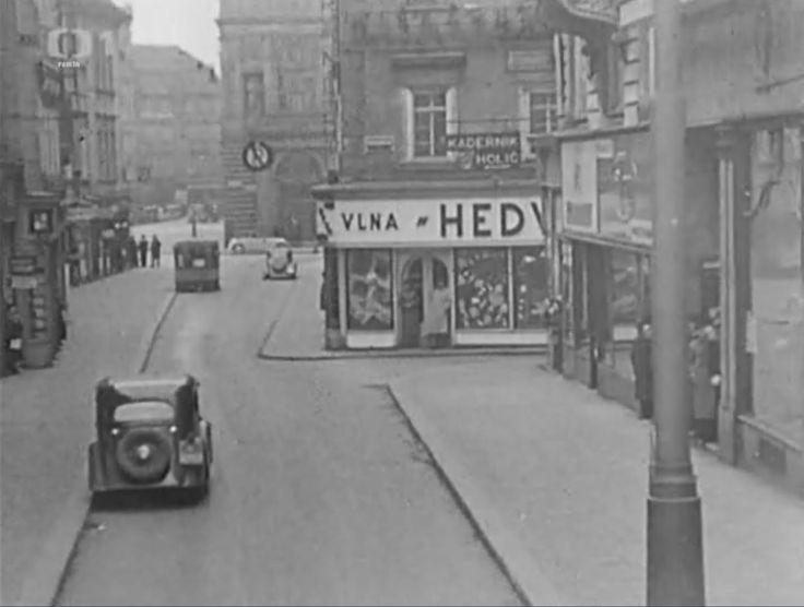 Prague – Na Můstku Street, 1938