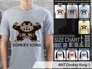 OMAH STORE: 8 BIT Donkey Kong 1
