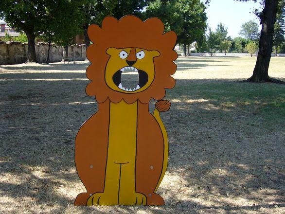 Foto: Festa di compleanno di Federico tema la giungla leone con cui fare la foto