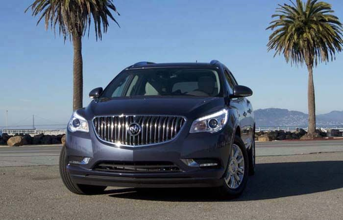 2018 Buick Enclave overview