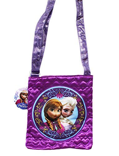 Disney Frozen Crossbody Purse Bag - Anna And Elsa, 2015 Amazon Top Rated Plush Purses #Toy