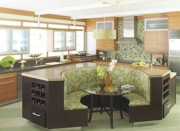 Modern Kitchen Booth