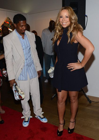 Mariah Carey Photos Photos - Nick Cannon and Mariah Carey attend the Project Canvas Charity Event Hosted By Nick Cannon at The Opera Ballroom at Crest on May 11, 2012 in New York City. - Project Canvas Charity Event Hosted By Nick Cannon